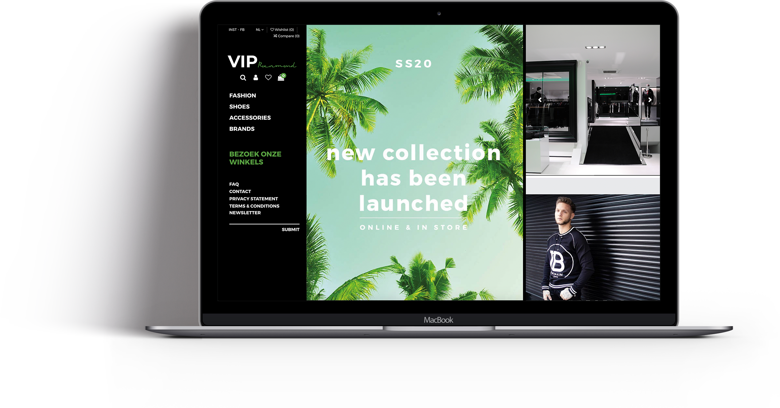 Webshop VIP Roermond